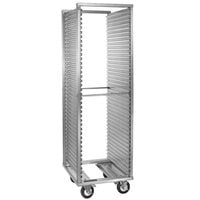 Cres Cor 208-1835-C 35 Pan End Load Aluminum Roll-In Refrigerator Rack with Corrugated Sidewalls - Assembled