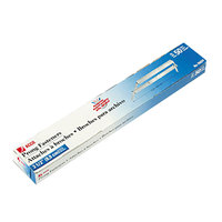 Acco 70424 3 1/2 inch Capacity Silver Two-Piece Paper File Fasteners - 50/Box