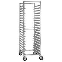 Cres Cor 207-1820-SD 20 Pan End Load Super Duty Aluminum Bun / Sheet Pan Rack - Assembled
