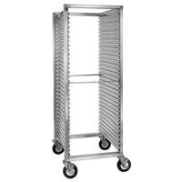 Cres Cor 200-1833A 31 Pan End Load Aluminum Bun / Sheet Pan Rack with Corrugated Sidewalls - Assembled