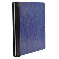 Acco 55260 8 1/2 inch x 11 inch Blue Side Bound Expandable Hanging Data Binder with Storage Hooks and 6 inch Capacity