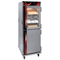 Cres Cor H-138-NPS-CC3MC5Q Insulated Full Height Stainless Steel Pass-Through Holding Cabinet - 120V, 2000W