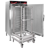 Cres Cor RH-UA16-D Insulated Full Height Stainless Steel Roll-In Holding Cabinet with Roll-In Rack - 208V, 3000W