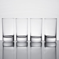 Acopa 5 oz. Straight-Sided Juice Glass / Tasting Glass - 4/Pack