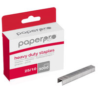 PaperPro 1962 105 Strip Count 3/8 inch Heavy-Duty Chisel Point Staples - 3000/Box