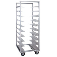 Cres Cor 207-2410A 10 Tray Side Load Aluminum Oval Tray Rack - Assembled