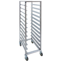 Cres Cor 207-1524 24 Tray End Load Aluminum Tray Rack - Assembled