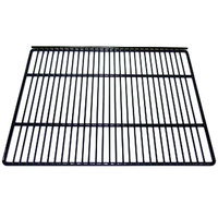 True 909110 Black Coated Wire Top Shelf - 19 11/16 inch x 17 inch