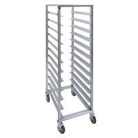 Cres Cor 207-1812 12 Pan End Load Aluminum Bun / Sheet Pan Rack - Assembled