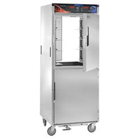 Cres Cor H-137-PWSUA-12D AquaTemp Insulated Full Height Stainless Steel Pass-Through Holding Cabinet - 120V, 2000W
