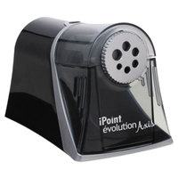 Westcott 15509 Evolution Axis Electric Pencil Sharpener with Multi-Hole Dial
