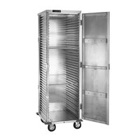 Cres Cor 100-1841-DSD Aluminum 39 Pan End Load Super-Duty Enclosed Non-Insulated Bun / Sheet Pan Rack - Assembled