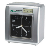 Acroprint 010212000 ATR120 Analog/LCD Automatic Time Clock