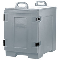 Carlisle PC300N59 Cateraide™ Slate Blue Front Loading Insulated Food Pan Carrier - Holds 5 Pans