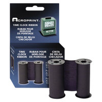 Acroprint 200106002 Blue 125 and 150 Print Time Recorder Ribbon