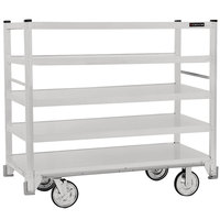 Cres Cor 271-51-5927-Z Correctional Queen Mary Banquet Service Cart with 5 Flat Shelves