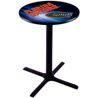 Holland Bar Stool L211B3628FLORUN-D2 28 inch Round University of Florida Pub Table
