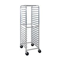 Cres Cor 275-70-1820-KDA 20 Pan End Load Aluminum Bun / Sheet Pan Rack - Assembled