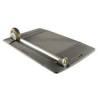 Westcott 15101 TrimAir 24 inch x 9 inch 15 Sheet Titanium Rotary Paper Trimmer with Metal Base