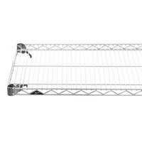 Metro A1848NC Super Adjustable Chrome Wire Shelf - 18 inch x 48 inch