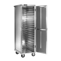 Cres Cor 101-1820D Aluminum 20 Pan End Load Enclosed Non-Insulated Bun / Sheet Pan Rack - Assembled