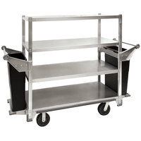 Cres Cor 271-41-5927 Queen Mary Banquet Service Cart with 4 Flat Shelves