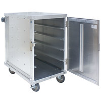 Cres Cor 101-1418-10 Aluminum 10 Tray Meal Delivery Cart