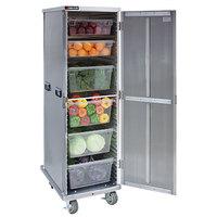 Cres Cor 109-1840 Aluminum 40 Pan End Load Enclosed Insulated Bun / Sheet Pan Rack - Assembled