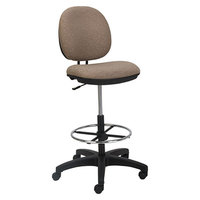 Alera ALEIN4651 Interval Series Sandstone Tan Swivel Task Stool