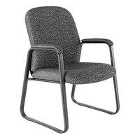 Alera ALEGE43FC40B Genaro Graphite Fabric Arm Chair