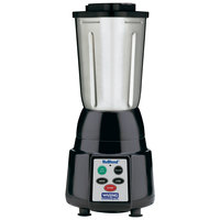 Waring BB185S NuBlend 2 Speed Commercial Bar Blender with Stainless Steel Container and Electronic Touchpad - 32 oz.