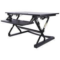 Alera ALEAEWR2B AdaptivErgo WorkRise Adjustable Stand Up Desk - 35 1/8 inch x 23 3/8 inch