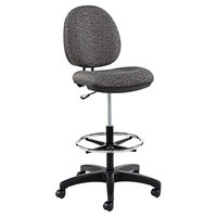 Alera ALEIN4641 Interval Series Graphite Gray Swivel Task Stool