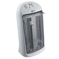 Alera ALEHEQZ23 13 1/4 inch x 10 1/8 inch x 23 1/4 inch White Tower Quartz Heater - 1500W