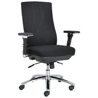 Alera ALEEY4114 EY Series Multifunction Mesh Office Chair with Adjustable Arms and Chrome Base