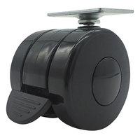 Alera ALEHT3004 3 3/4 inch Black Nylon Casters   - 4/Case