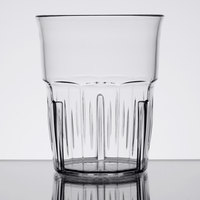 Carlisle 4364907 Lorraine 9 oz. Clear SAN Plastic Old Fashioned Tumbler - 12/Case
