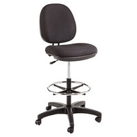Alera ALEIN4611 Interval Series Black Swivel Task Stool