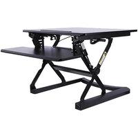 Alera ALEAEWR1B AdaptivErgo WorkRise Adjustable Stand Up Desk - 26 3/4 inch x 31 inch