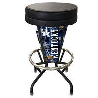Holland Bar Stool L500030KentkyBlkVinyl University of Kentucky Indoor / Outdoor LED Bar Stool