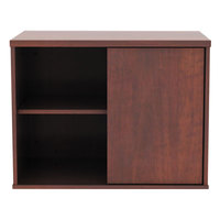 Alera ALELS593020MC Open Office Cherry Low Storage Cabinet / Credenza - 29 1/2 inch x 19 1/8 inch x 22 7/8 inch