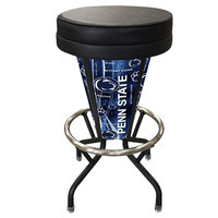 Holland Bar Stool L500030PennStBlkVinyl Penn State University Indoor / Outdoor LED Bar Stool