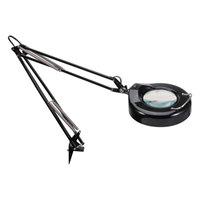 Alera ALELMPM745B 36 inch Black Full Spectrum Clamp-On Adjustable Magnifier