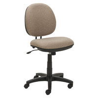 Alera ALEIN4851 Interval Sandstone Tan Fabric Office Chair with Black Swivel Nylon Base