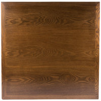 BFM Seating VN3636AA 36 inch Square Autumn Ash Veneer Indoor Table Top
