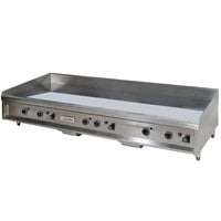 Anets A24X60AGM 60 inch Natural Gas Countertop Griddle with Manual Controls - 150,000 BTU