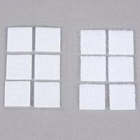 3M RF4720 Scotch® 7/8 inch White Indoor Fastener Set - 6/Pack