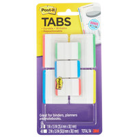 3M 686VAD1 Post-It® 1 inch and 2 inch Assorted Color Tab Value Pack - 114 Tabs