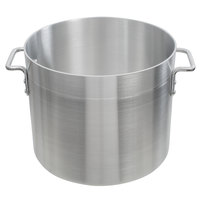 Choice 32 Qt. Standard Weight Aluminum Stock Pot