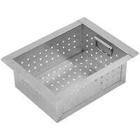 Advance Tabco A-16 Perforated Sink Basket for 10 inch x 14 inch x 10 inch Bowls
